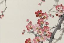 東洋畵 (花)