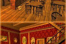 Inrichting Barber Saloon Barbarius