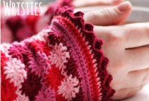 ♡ polswarmers haken / crochet wrist warmers