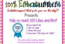 100% Entertainment & Events Management