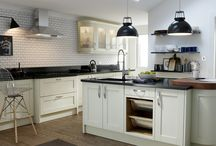 Shaker kitchens / Gorgeous looks for in-frame kitchen designs