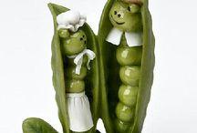 Food and Veggie crafts