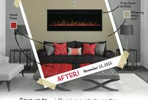 Dimplex Special Promotions / Product promotions and rebates offered by Dimplex North America on electric fireplaces and home heating devices. / by Dimplex