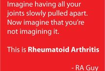 Rheumatoid Arthritis and Fibromyalgia / I have RA and FA. Neither are fun. I thought it would be a good place to share information. If there is something you would like to add, Let me know and I will give you permission to post. / by Barbara Duke