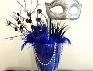 Masquerade Ball  / Planning a gala ball, pinning ideas that tickle my fancy