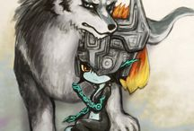 loups zelda