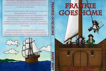 FRANKIE GOES HOME / A beautiful children's book which uses adventure-filled storylines to teach children basic good values to use in their lives.  Frankie and his friends are at sea and home has never seemed so far away. They face one disaster after another with only Frankie's faith to guide them through. With the help of the Ten Commandments, Frankie teaches his friends that God's love will always be there, if only they can open themselves up to Him.