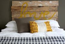 bed headboard ideas / Simply bed headboards ideas for me :)