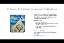Enlighten The Kids / Video tips to support 21 Lessons To Empower The New Age Kid book.