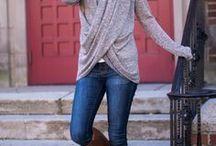 Pletené svetry podzimní