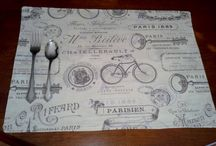 Placemats / by Delaine VanDyke