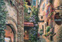 quadri paesaggi