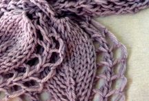 Lacy scarf from easy