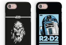 [STAR WARS] / 'Star Wars' Phone Cases - Featuring 'The Last Jedi' and more. Available for iPhone, Samung and Huawei phone models.
