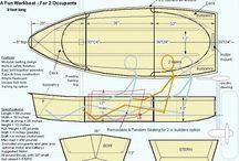 łódki diy