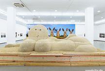 Sand sculpture-Art