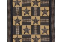 Got You Covered / Throw blankets that bring style to your armchair or bed. Find decorative throws and cuddle up with warmth and comfort in your country primitive home or cabin.  Hand quilted or woven blankets made of 100% cotton.