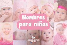 Nombres para niñas / Conoce el significado del nombre de tu bebé.