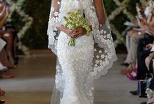 Wedding dress ideas!  / by Brittany Bennett
