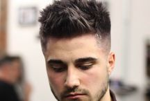 hairstyle for men whit beard