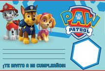 Fiesta Patrulla Canina: Invitaciones ⭐ Paw Patrol Party Invitations / Invitaciones para tu fiesta de cumpleaños de la Patrulla Canina. Ideas DIY para crear tus propias tarjetas de cumpleaños. ⭐ Treat your birthday boy or girl to an unforgettable birthday party with a PAW Patrol theme. These PAW Patrol invitation gallery offers exclusive designs with your favorite characters including Chase, Marshall, Skye, Rubble, Zuma, and more. Choose your favorite invitation and personalize it with event information such as date, time, and location.