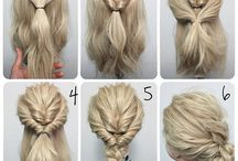 Super simple hair-do