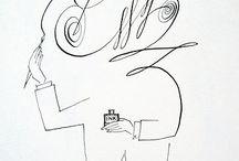 tegninger- vignetter