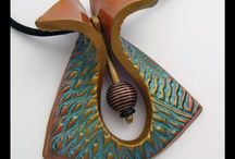 Hand made pottery jewelry
