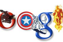 Marvel Google Logo