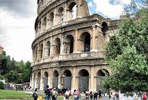 Rome / La Città Eterna... ogni parola è superflua e non basta a descrivere le emozioni che questa Città ci lascia provare. Stratificata architettonicamente nel tempo, a mio modesto parere, come la si gode d'inverno, con l'aria natalizia, quando si colora di un tremolante giallo, con un bel tocco decadente, non la si gode mai... provare per credere