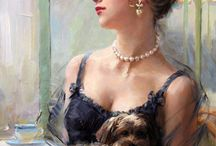 PAINTINGS - KONSTANTIN RAZUMOV