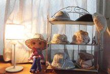 PeachBloom Blami &Blako's HAT Shop / PeachBloomのブラミちゃんとブラコちゃんがアトリエ内で勝手にオープンしている帽子屋さんの日常