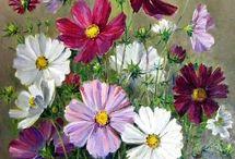 Çiçek tablo