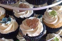 wedding cupcakes by utopia cakes