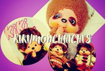 KIKI/MONCHHICHI'S (my collect') / ©LauryRow. / https://www.facebook.com/pg/Disneycollecbell%20/photos/?tab=album&album_id=786548874760138