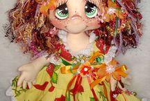 panenky textilní veselé
