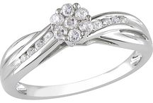 * Pretty Diamond Jewelry ~ Rings * / by Kim Champion