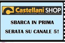#CastellaniSHOP on TV / #Castellani SHOP sbarca in prima serata su #canale5! ! ! ! !  Stay Tuned! ! ! ! !