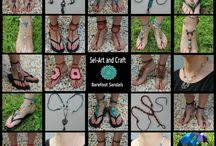 Sel-Art and Craft / Barefoot Sandals and other goodies!