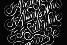 Typography / Lettering / by Adam Lewis
