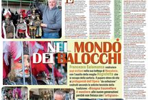 Articoli - Newspaper / Articoli sui miei pupi siciliani - Articles and newspapers stories about my Sicilian puppets