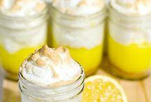 Mason jar deserts
