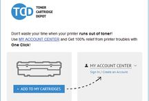 We Value Our Customers / Save time with Toner Cartridge Depot