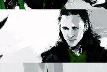 Loki (drawings, graphics, notes)