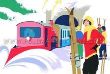 ski, manifesti / sport, sciare