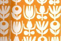 Scandi fabric design