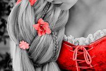 Beautiful in red
