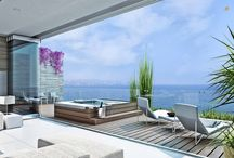 Apartments with sea view