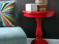 Painted RED Furniture / Dorothy Sue and Millie B's too