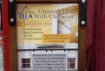 Barn Door Hardware / How to use barn door hardware for sliding doors